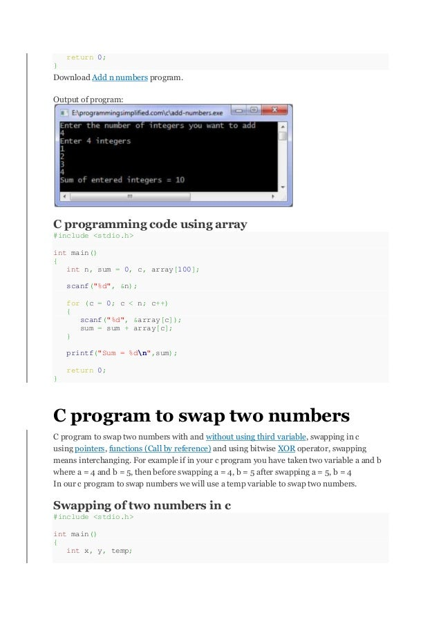 how to add numbers an array in js