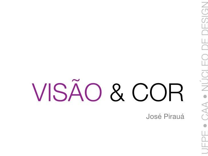 VISÃO & COR         José Pirauá