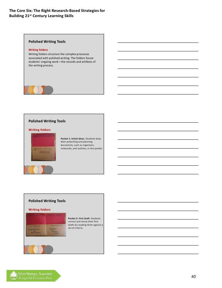 prewriting outline template - the core six the right research based strategies for