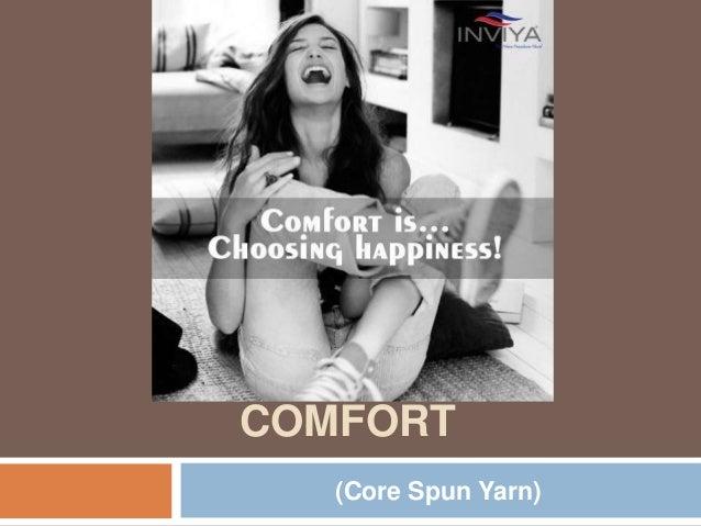 YARNING FOR COMFORT (Core Spun Yarn)