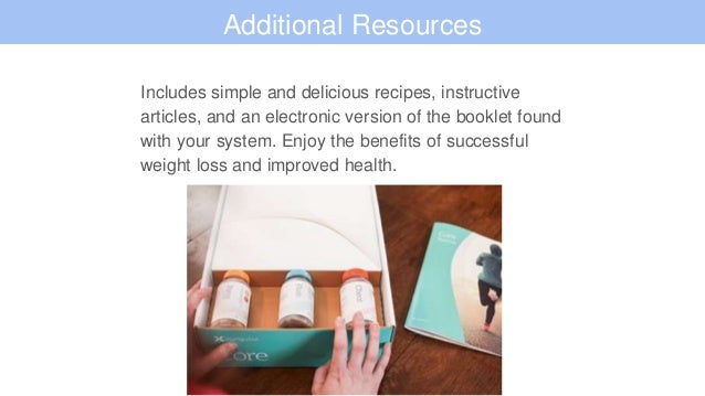 Xyngular Core System for Weight Loss