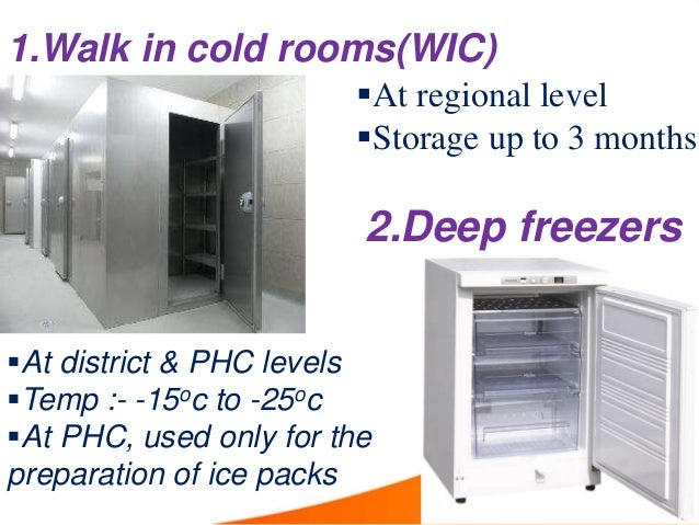 Cold chain storage equipment Walk in cold rooms Deep freezers Ice lined refrigerators; 5. 1.  sc 1 st  SlideShare : cold chain storage  - Aquiesqueretaro.Com