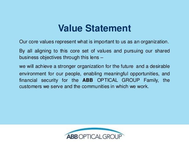 Core value slides Slide 2