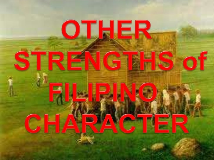 filipino value of religion Social values and organization philippines table of contents the great majority of the philippine population is bound together by common values and a common religion a filipino is also asking that person to become a closer friend.