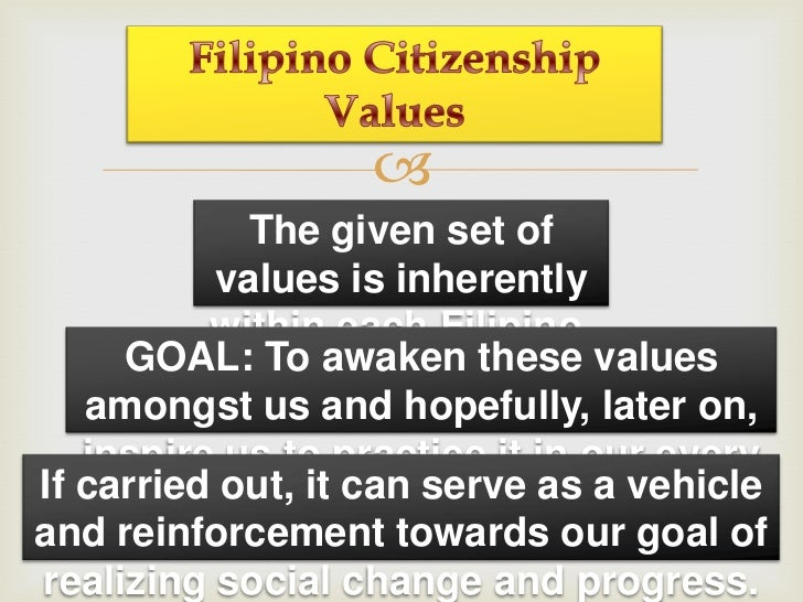 a good filipino citizen Can you lose your filipino citizenship and rights when you acquire foreign citizenship - duration: 5:43 untv web 3,631 views.