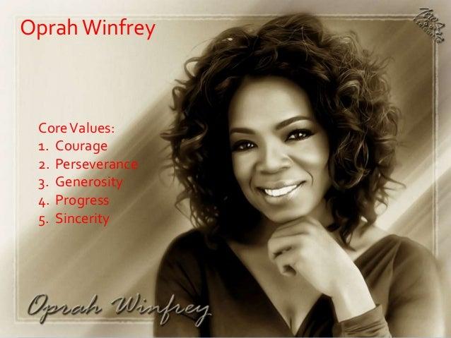 oprah winfrey personality