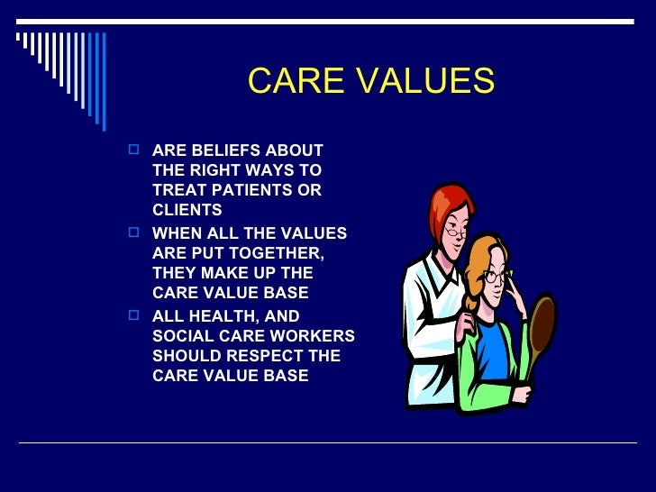 working values and beliefs providing patient care my nursi