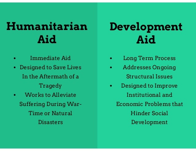 dilemmas of humanitarian aid This introduction to the special issue brings some humanitarian dilemmas into focus, arguing that,  it encapsulates how humanitarian aid, on its own,.