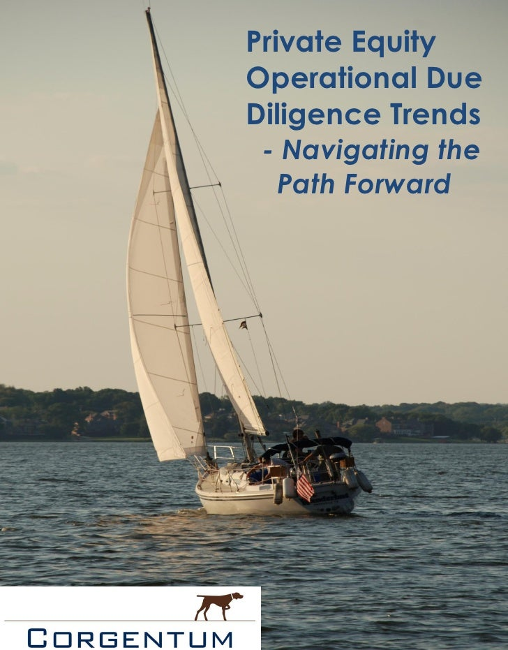 Private EquityOperational DueDiligence Trends - Navigating the  Path Forward                1|Page