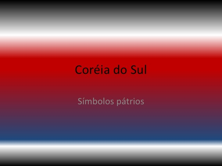 Coréia do SulSímbolos pátrios