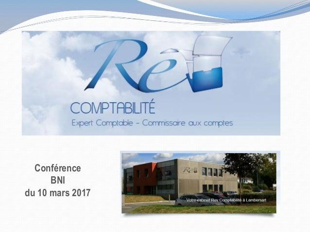 Conférence BNI du 10 mars 2017
