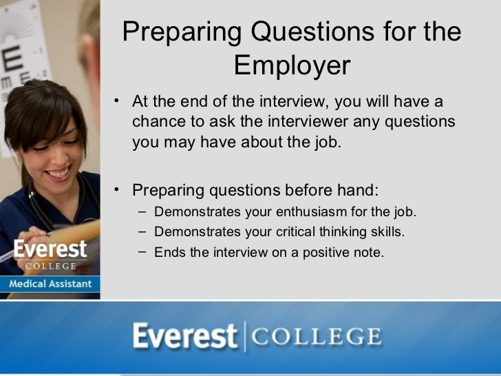 preparation questions