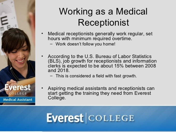 medical assistant job opportunities: receptionist, Human Body