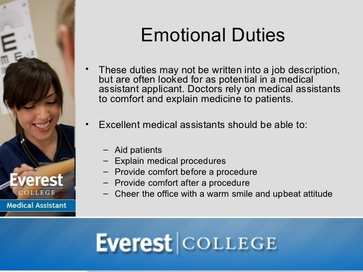 What Do Medical Assistants Do – Medical Assistant Job Dutie