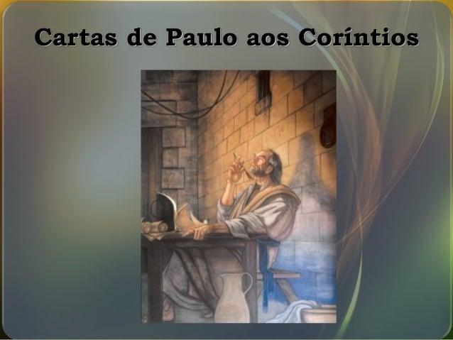 Cartas de Paulo aos Coríntios
