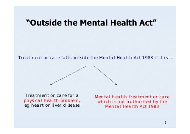 Mental Health Appeals: Courts or Tribunals (Lecture)