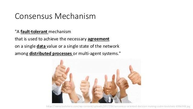 Overview of Blockchain Consensus Mechanisms Slide 2