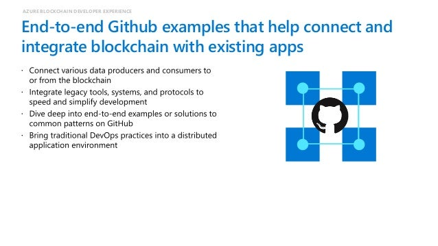 Azure Blockchain for Developers Scan this QR-code to access free educational resources, step-by-step learning guides as we...