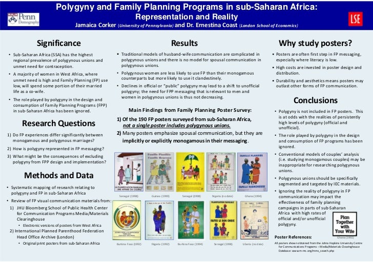 Polygyny and Family Planning Programs in sub-Saharan Africa:                                                              ...