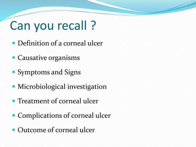 Corneal ulcer(bactrial,fungal) 25.02.16, dr.k.n.jha