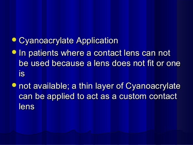 treatment of non healing corneal ulcer