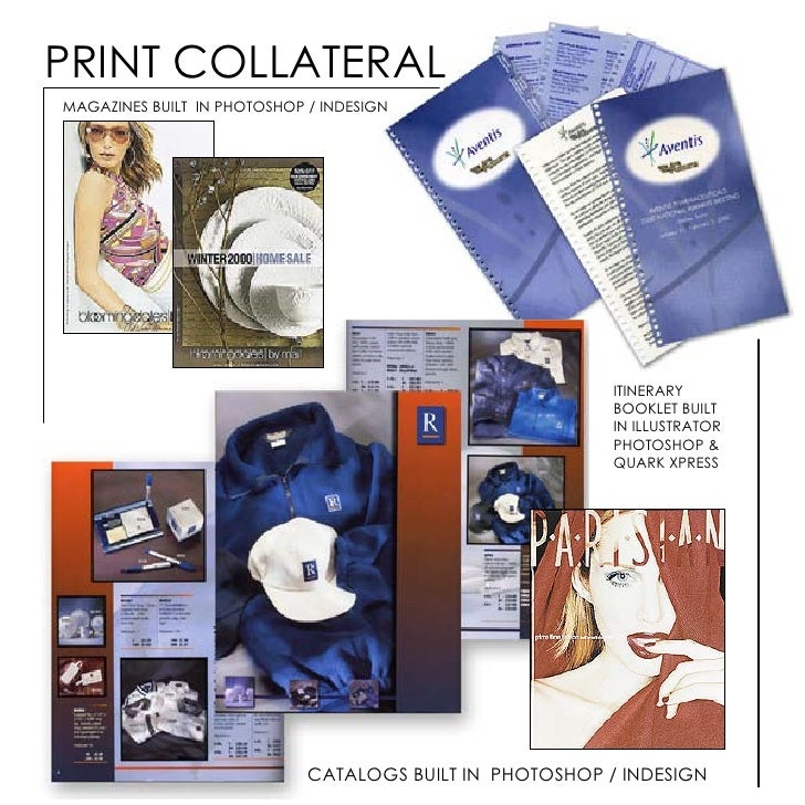 PRINT COLLATERAL MAGAZINES BUILT IN PHOTOSHOP / INDESIGN                                                               ITI...