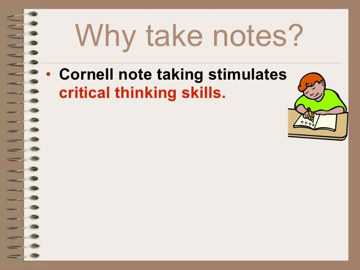 how to take cornell notes powerpoint
