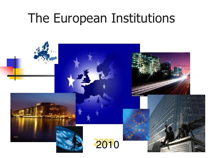 EU Insititutions by Mark Corner