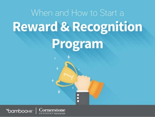 Employee recognition and reward program essay