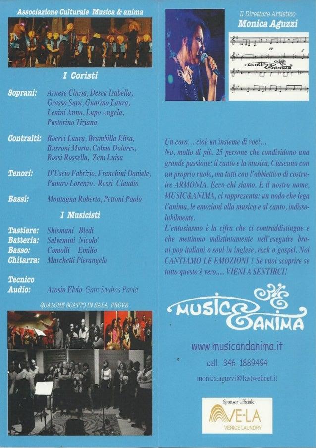 Coro Musica e Anima di Pavia