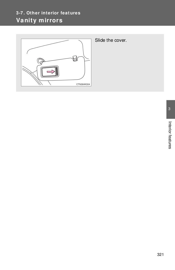 Toyota Corolla Owners Manual: Calibrating the compass