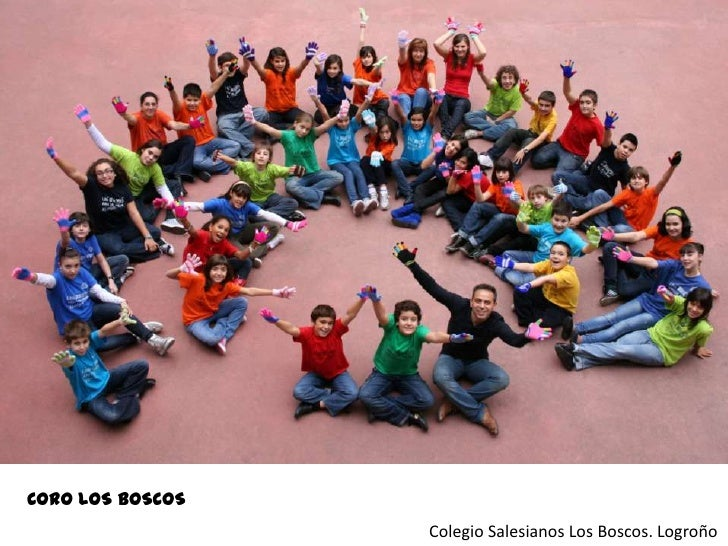 CORO LOS BOSCOS<br />Colegio Salesianos Los Boscos. Logroño<br />