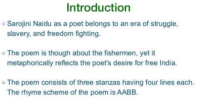 Coromandel Fishers Summary By Sarojini Naidu