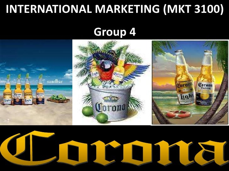 INTERNATIONAL MARKETING (MKT 3100)             Group 4