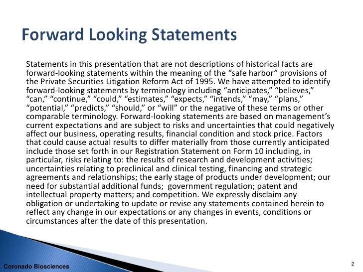 Coronado Corporate Presentation - September 2011 Rodman and Renshaw Conference Slide 2