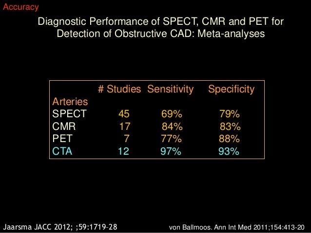 Coronary CTA: The test of choice for obstructive CAD.