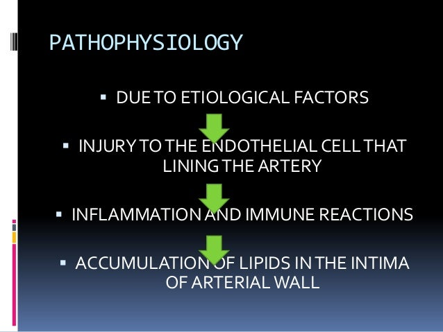 what is the etiology of coronary artery disease