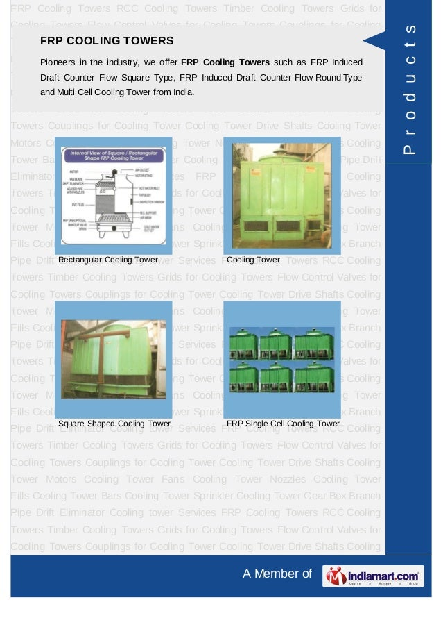 Coron Cooling Towers Private Limited, Noida, FRP Cooling Towers Slide 3