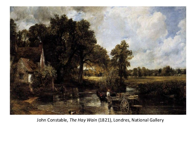 John Constable, The Hay Wain (1821), Londres, National Gallery
