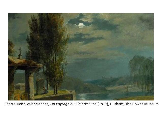 Pierre-Henri Valenciennes, Un Paysage au Clair de Lune (1817), Durham, The Bowes Museum
