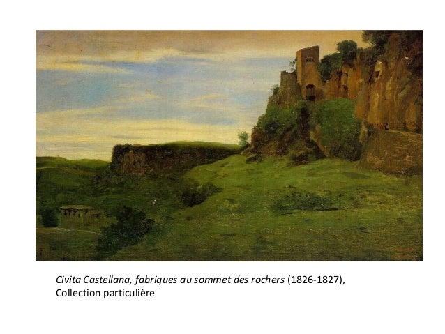 Ce thème en particulier montre l'influence despeintres anglais sur CorotConstable, Salisbury Church from the Bishop'sGroun...