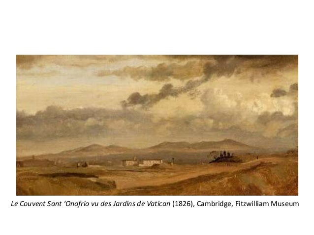 """• Un éventail de couleur limité a representé undéfi et exercise pour Corot quant au thème dela lumière• """"Ce soleil répand ..."""
