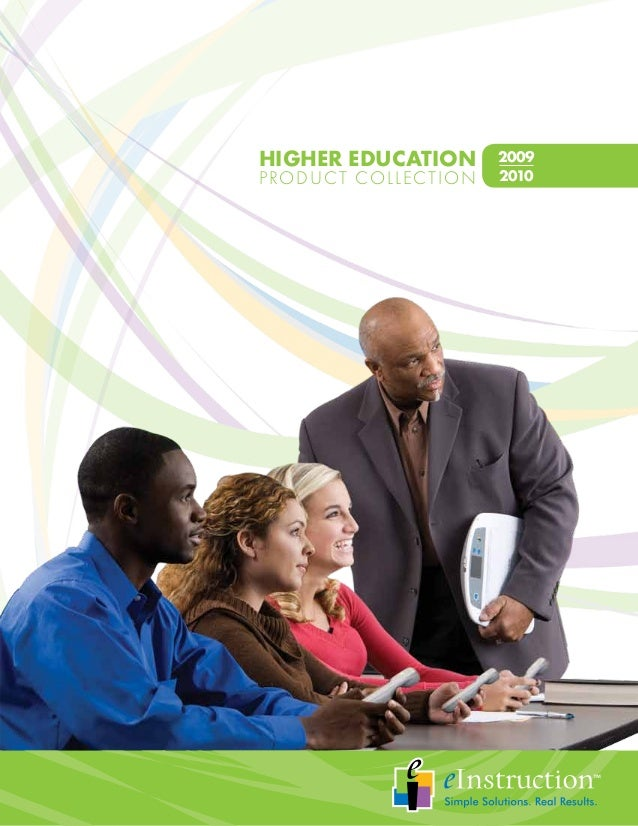 HIGHER EDUCATION     2009PRODUCT COLLECTION   2010