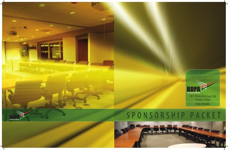 Chicago Chapter     Sponsorship Packet      200 S. Wacker Drive, Suite 1500             Chicago, IL 60606              (31...