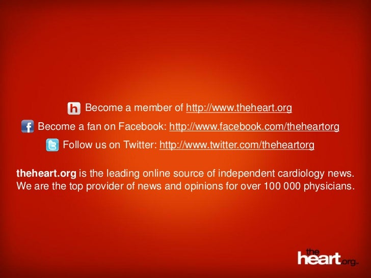 Become a member of http://www.theheart.org    Become a fan on Facebook: http://www.facebook.com/theheartorg          Follo...