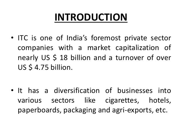 Brands of India: Introduction and ITC