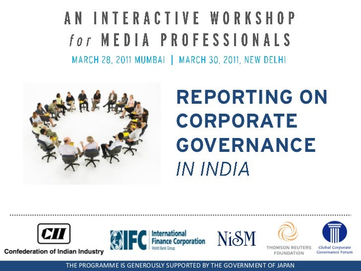 REPORTING ON                              CORPORATE                              GOVERNANCE                               ...
