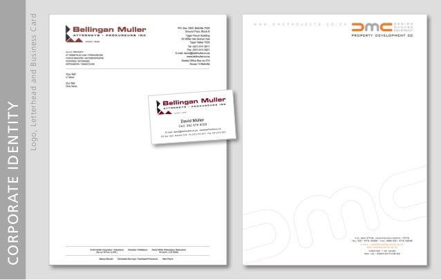 Logo Letterhead Business Card Design