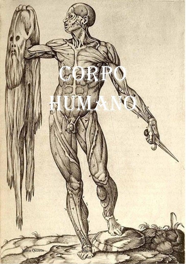 CORPO                HUMANOMaria Queirós     Página 1   07-04-2011