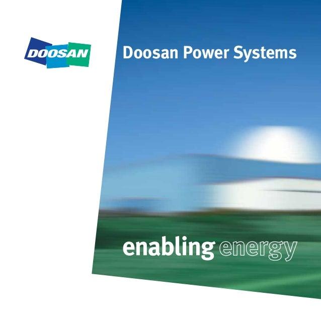 Home Doosan Power Systems - fuel-economy info